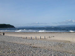 The Moray Firth from Findhorn